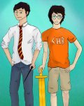 When Wand and Sword Collide [Harry Potter/ Percy Jackson Crossover]