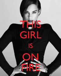 this girl is on fire|one direction