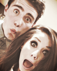 Zoella and pointlessblog 1