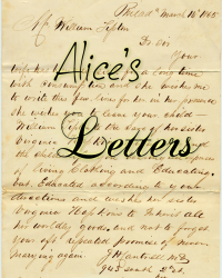 Alice's Letters