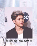 I love her! | Niall horan
