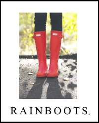 Rainboots. x  narry