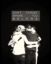 Don't forget were you belong