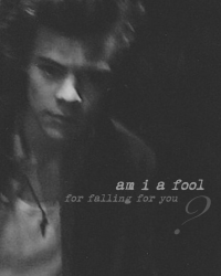 Am I A Fool (for falling for you?)