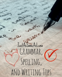Spelling, Grammar, and Writing Tips