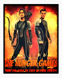 Alternative cover for The Hunger Games(Project Remix)