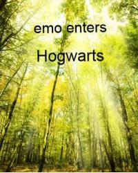 Emo enters Hogwartes