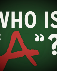 Who is A? (Pretty Little Liars.)