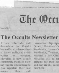 The Occults Newsletter