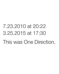 5 years of One Direction