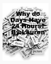 Why do days have 24 hours?