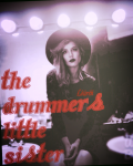 The drummer's little sister