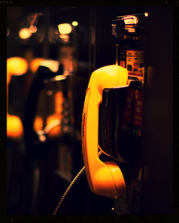 Flash Fiction Competition // 50 words // The Payphone