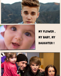 my flower , my baby, my daughter !