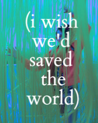 (i wish we'd changed the world)