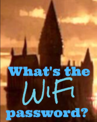 Whats the WiFi password?