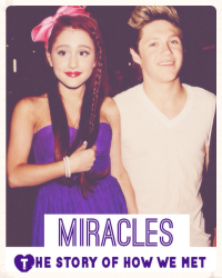 Miracles: The story of how we met