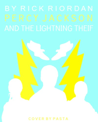 alternative cover to percy jackson and the lightning theif