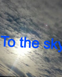To the sky written by jaylynn carter