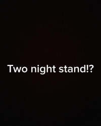 two night stand?