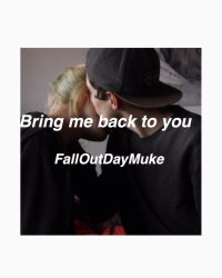 Bring me back to you. /l.h\
