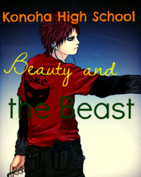Konoha High School: Beauty and the Beast (Gaara/OC)