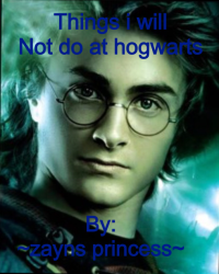 Things i will not do at hogwarts