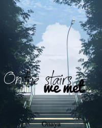 On the stairs we met *English*