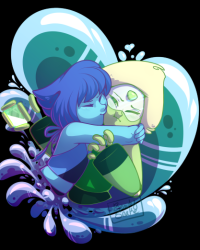 Lapis and Peridot - Now that's love