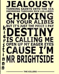 Mr. Brightside - Fanfiction Royale, Songfic
