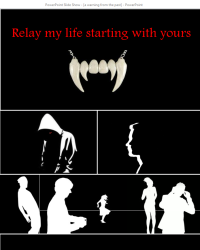 Relay my life starting with yours