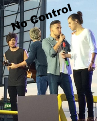 """No control"" ~ One direction"