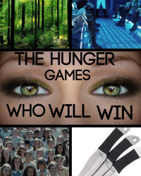 The Hunger Games- Who Will Win