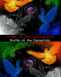 Trials of the Junsuikaoni: Battle of the Elementals (Book 1)