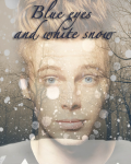 Blue eyes and white snow//Luke Hemmings