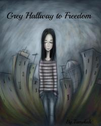 Grey Hallway to Freedom