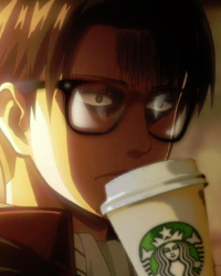 hot chocolate Levi x reader AU