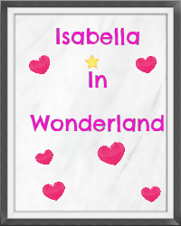 Isabella in wonderland
