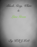 Black, Grey, White and Lime green
