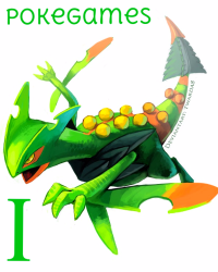 The PokeGames I: Sceptile