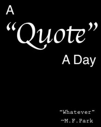 A Quote A Day