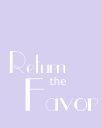 Blinded: Return the Favor - One Direction