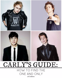 Carly's guide: How to find the one and only