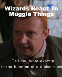 Wizards Reacting To Muggle Things