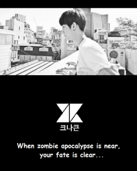 Kimchi's Diaries (special): KNK in Zombieland