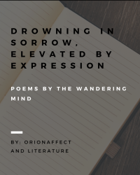 Drowning in sorrow elavated by expression