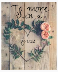 To more than a friend