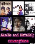 Akvile and Natalie's coverstore
