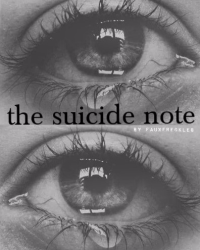 the suicide note (poem)