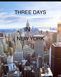 Three days in New York